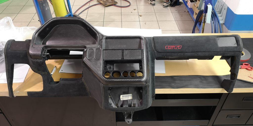 106 Carbon Project: cruscotto