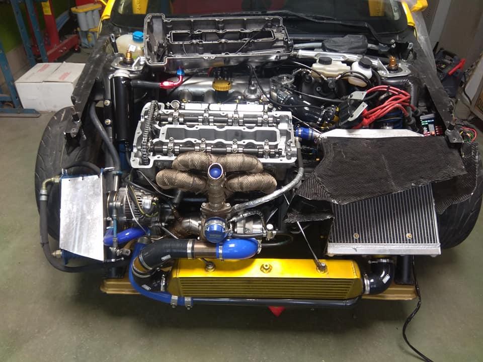 106 maxi turbo: motore