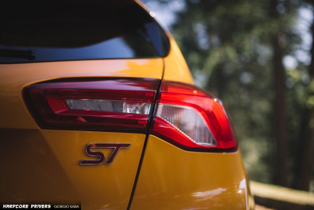 Focus ST: faro posteriore